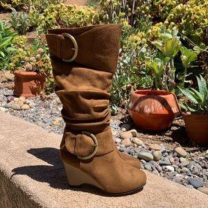 New Journee collection Irene Wedge boot